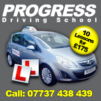 Driving Lessons with Progress Driving School Slough