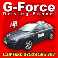 Driving Lessons prices in Guildford with G-Force Driving School