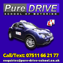 Driving Lessons with Pure Drive School of Motoring in Harrow