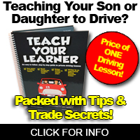 Teach Your Child to Drive - Save Money On Driving Lessons